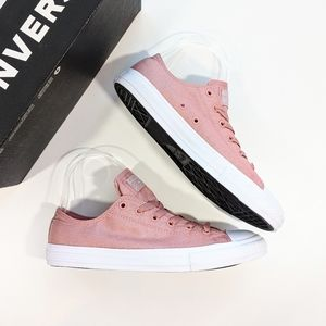 Converse CTAS OX Rust Pink/White/Pure Silver